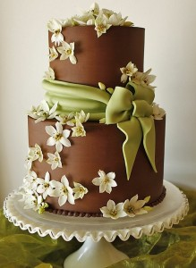 chocolate wedding cakes ideas chocolate fondant wedding cakes 12791
