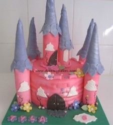 3 Princess Cake Designs – any little girl will love