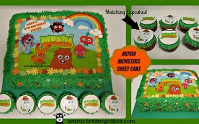 Photo Cake – Moshi Monsters