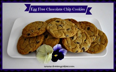 Egg Free Chocolate Chip Cookies – a fun recipe to make with kids