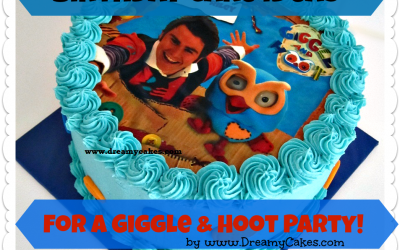 Birthday Cake Ideas for a Giggle & Hoot Party