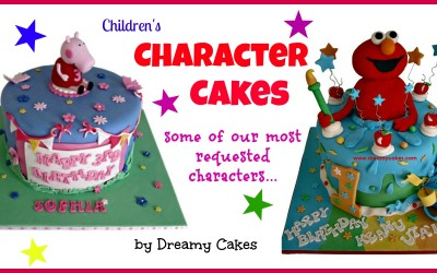 Character Cakes – Kids Love Them!