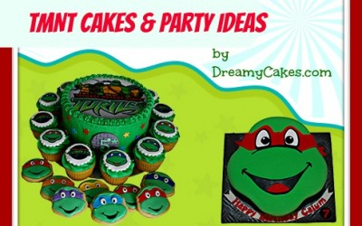 TMNT cakes and party ideas!