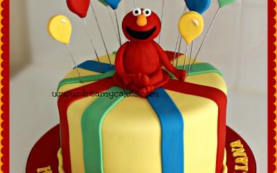 Elmo-birthday-cake