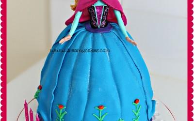 Frozen-Anna-Cake