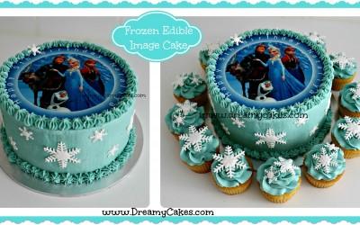 Frozen-edible-image-cake