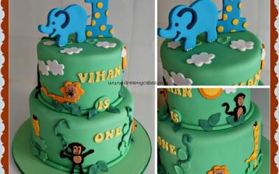Jungle_design_Cake