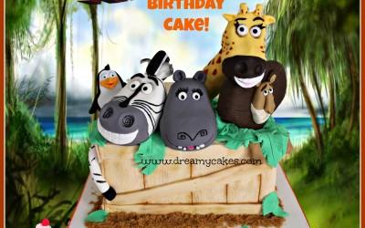 Madagascar-cake