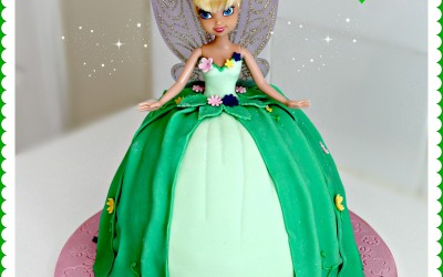 Tinkerbell-Doll-Cake