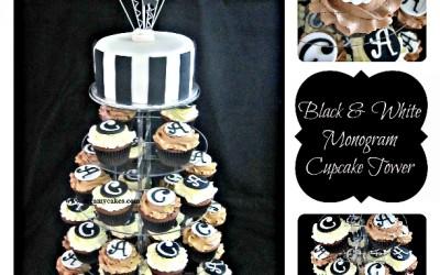 black-and-white-cupcaketowercollage
