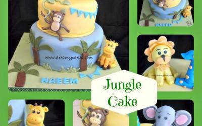 jungle-cake-collage