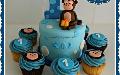 monkey-1st-birthday-cake