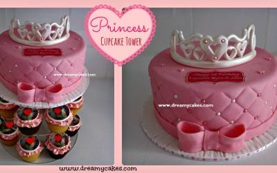 princess-cupcaketower