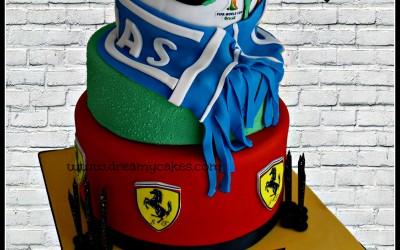 soccer-ferrari-cake