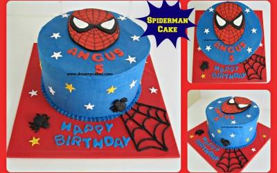 spiderman-buttercream