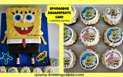 spongebob-cake