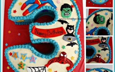 superhero-3rd-birthday-cake