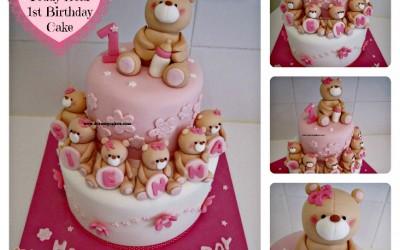 teddybearcakecollage