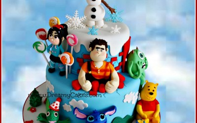 Favourite Characters Disney cake