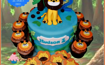 Lion Cake party package