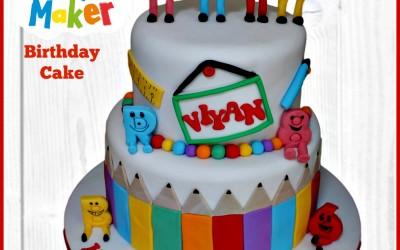 Mr Maker cake2