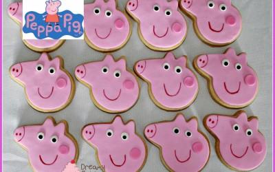 Peppa Pig sugar cookies