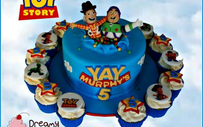 Toy story cake cupcakes