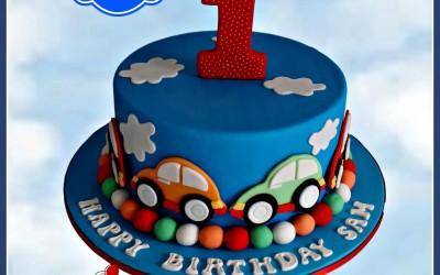 car cake 1 tier