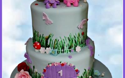fairy cake 2 tier