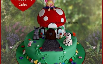 fairy toadstool cake 2